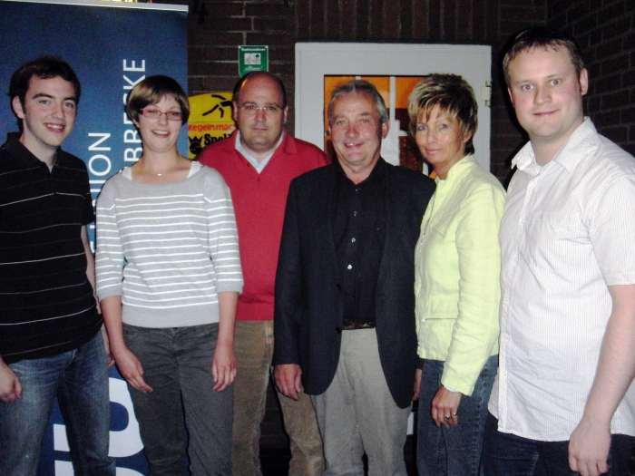 Christoph Hartke, Sonja Hachmann, Steffen Kampeter MdB, Friedhelm Ortgies MdL, Kirstin Korte, Henning Vieker