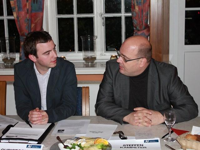 Christoph Hartke und Steffen Kampeter MdB bei der Kreisdelegiertenkonferenz 2012